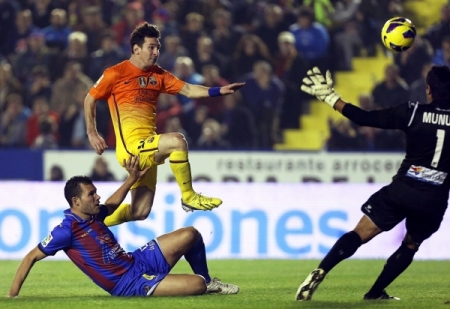 Levante UD vs FC Barcelona