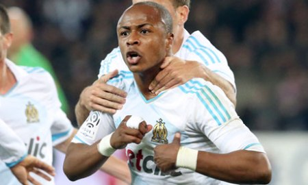 Marseille's Andre Ayew