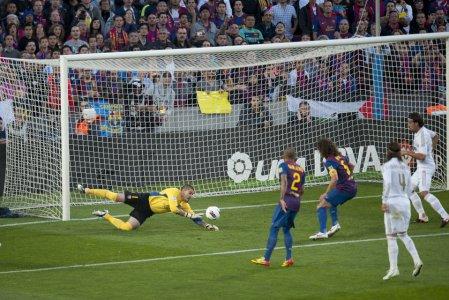 barcelona 1-2 real madrid el clasico victor valdes carles puyol barcelona 1-2 real madrid