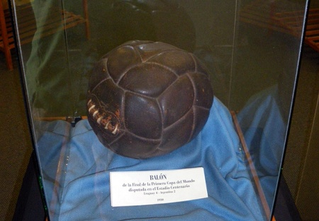 The-actual-match-ball-from-the-first-ever-World-Cup-Final