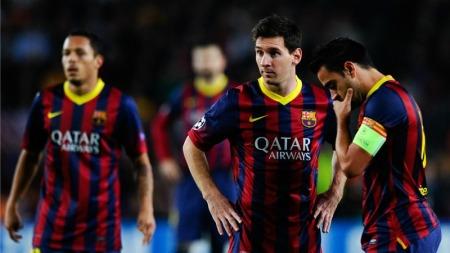 <> at Camp Nou on November 6, 2013 in Barcelona, Spain.