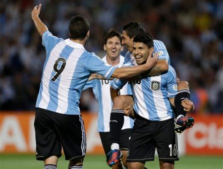 Argentina Uruguay Soccer WCup