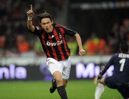 Filippo+Inzaghi+AC+Milan