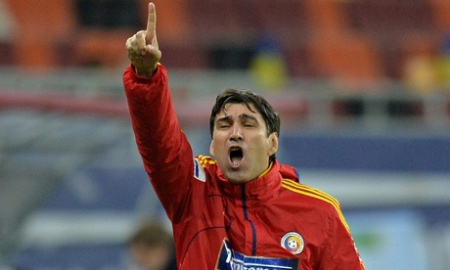 Romania's coach, Victor Piturca, tends to wear black and has 666 on his car number plate.